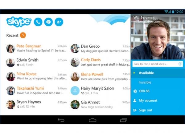 ویژگی های جدید اسکایپ 5.10 برای کاربران اندروید