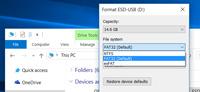 فایل سیستم های FAT32، NTFS و exFAT. تفاوت در کجاست؟