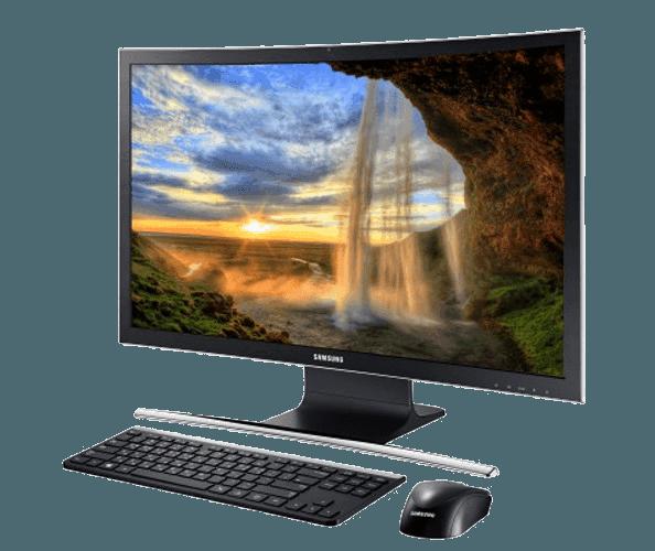سامسونگ کامپیوتر بدون کیس Ativ One 7 را با نمایشگر خمیده روانهی بازار میکند