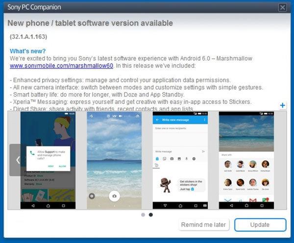 اندروید 6.0 مارشملو به صورت جهانی برای اکسپریا Z5 منتشر شد!