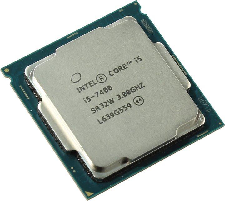سی پی یو اینتل Core i5 7400