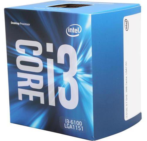 سی پی یو اینتل Core i3 6100